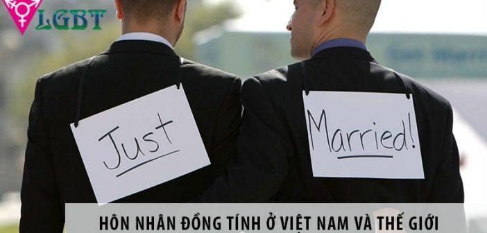 Luật hôn nhân đồng tính - quan điểm của Việt Nam và thế giới