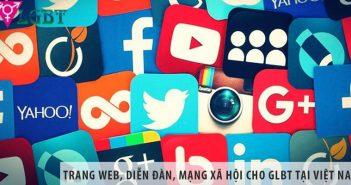 Top 5 trang web, diễn đàn, mạng xã hội cho GLBT tại Việt Nam