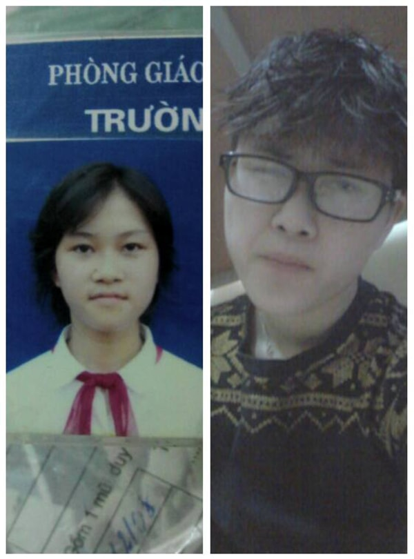 Gương mặt Hiếu trước và sau khi chuyển giới