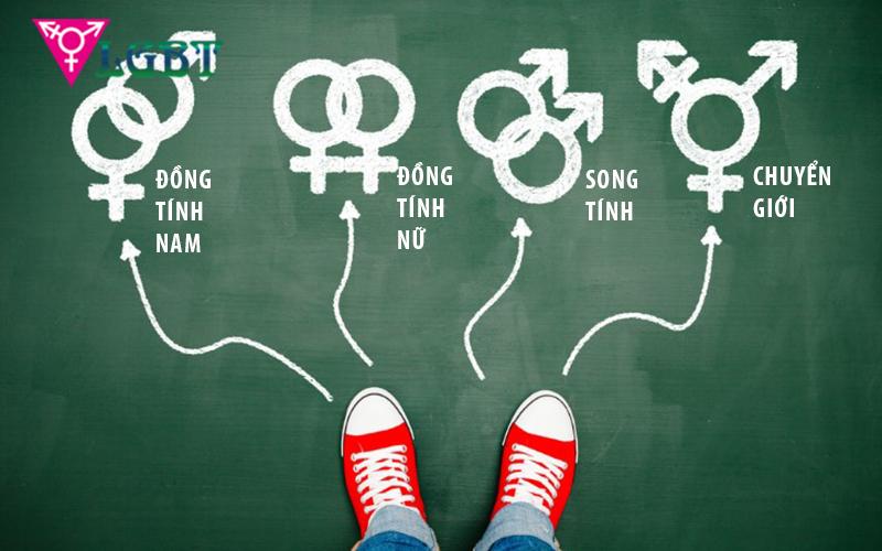 Gay chỉ là một phần của cộng đồng LGBT