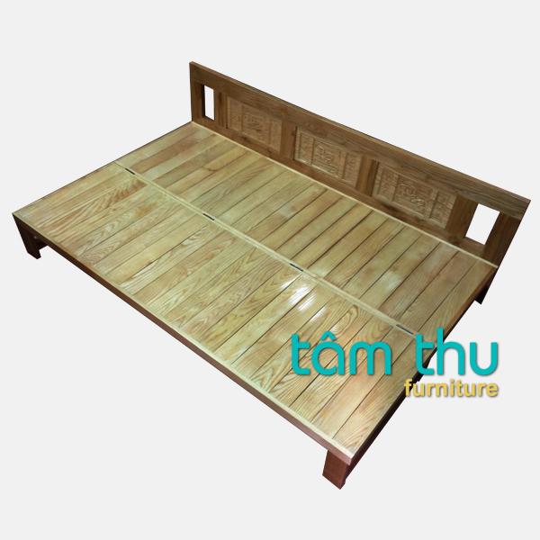 Giường ngủ gỗ tự nhiên kiểu gấp