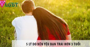 5 lý do nên yêu bạn trai hơn 3 tuổi