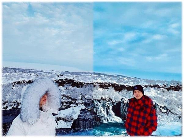 Bằng chứng cho chuyến du lịch Iceland