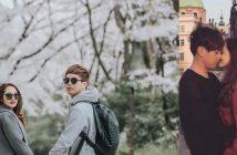 Hồ Quang Hiếu và Bảo Anh đi du lịch cùng nhau