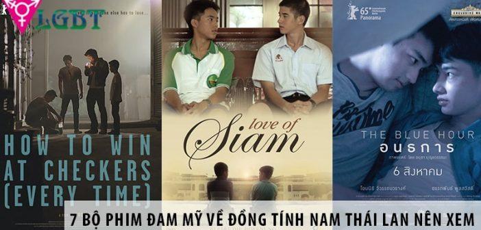 7 bộ phim đam mỹ về đồng tính nam Thái Lan hot nhất nên xem