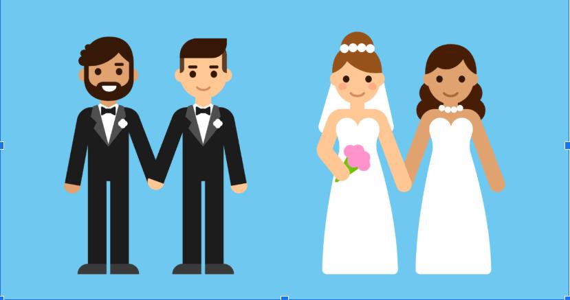 Đồng tính gồm có đồng tính nam và đồng tính nữ