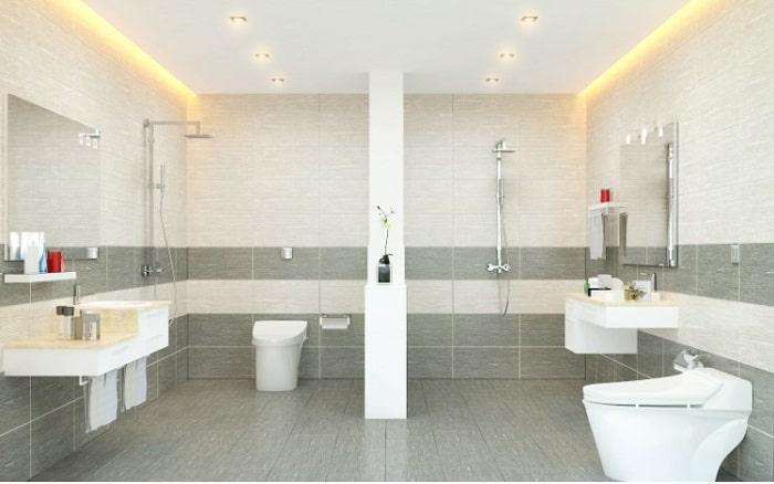 Nhà vệ sinh không có quạt thông gió hoặc cửa sổ dễ bị ẩm mốc
