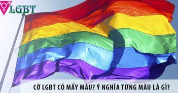 Cờ LGBT có mấy màu? Ý nghĩa từng màu là gì?