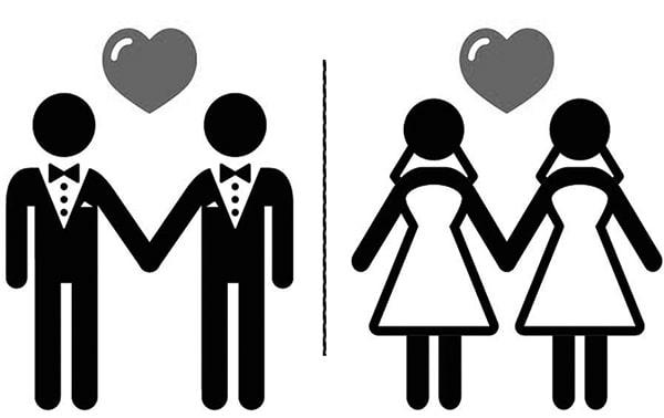 Đồng tính gồm đồng tính nam và nữ