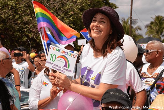 Bà Mariela Castro tích cực tham gia nhiều hoạt động vì cộng đồng LGBT ở Cuba