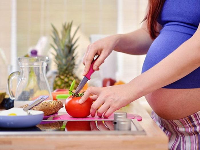 Cà chua có rất nhiều lợi ích đối với mẹ bầu và thai nhi
