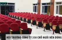 Thiết kế hội trường công ty 350 chỗ ngồi nên dùng ghế gì? 1