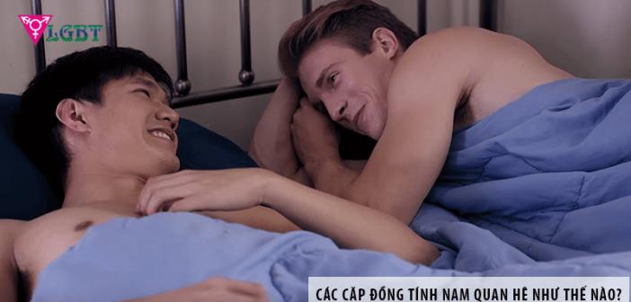 Các cặp đồng tính nam quan hệ như thế nào?