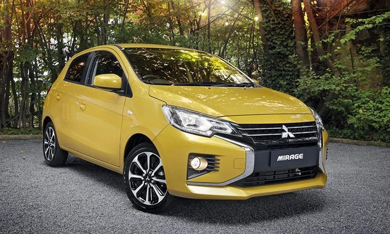 Mitsubishi Mirage là dòng xe lý tưởng cho phái nữ