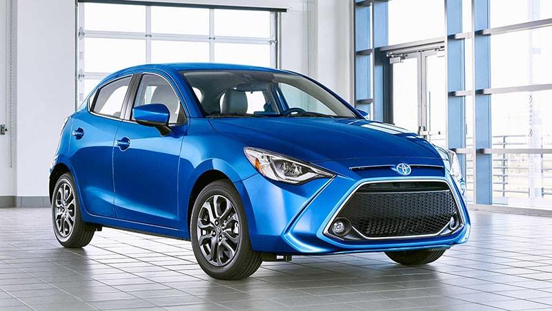 Toyota Yaris dễ lái, giá hợp lý phù hợp với phụ nữ công sở