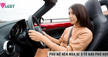 Phụ nữ nên mua xe ô tô nào phù hợp?