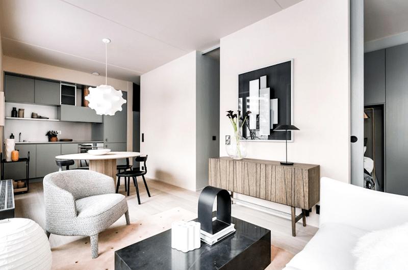 Căn hộ mini cũng như chung cư mini được xây dựng bởi cá nhân và có diện tích không dưới 30m2