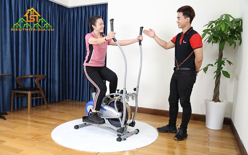 Xe đạp tập thể dục rất an toàn khi sử dụng