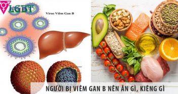 Người bị viêm gan B nên ăn gì, kiêng gì khi chữa bệnh